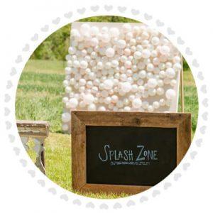 Ballong-splash tavla